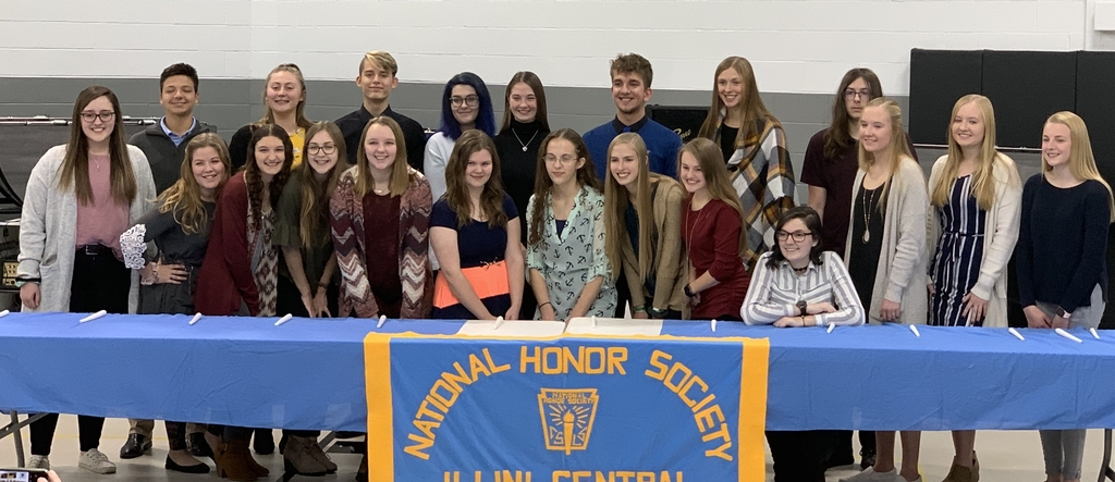 Illini Central High School's newest National Honor Society