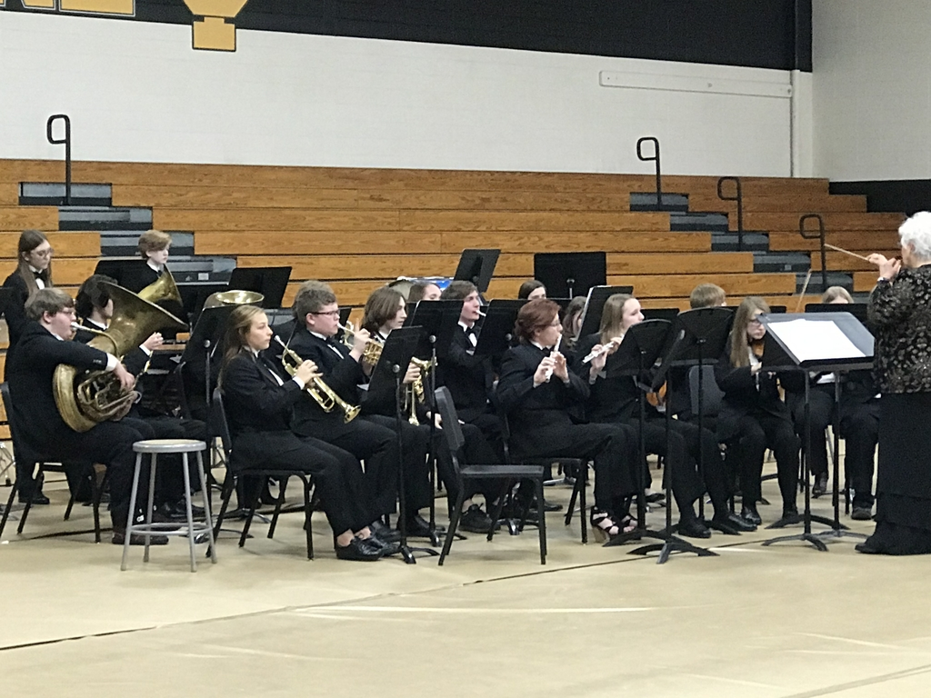 "ICHS band ""Blue Christmas"""